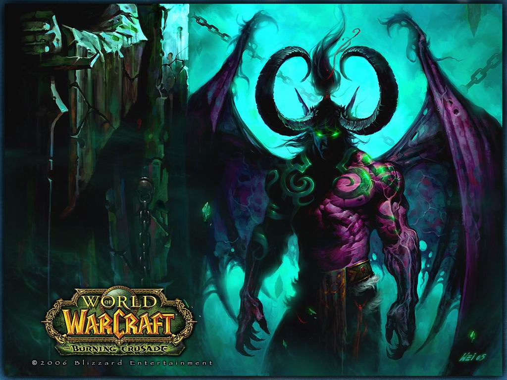 World of warcraft walpaper page
